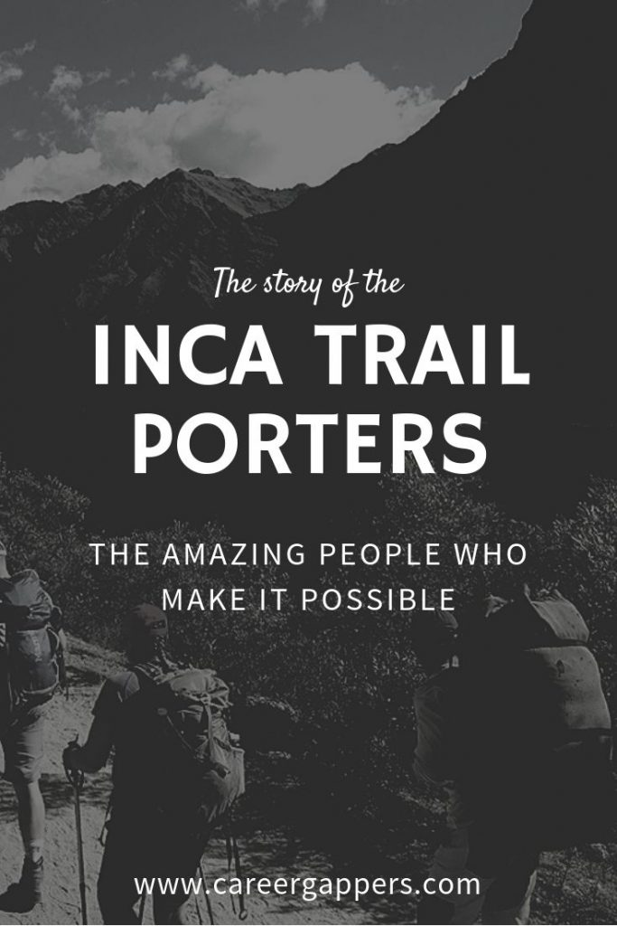 Without the incredible support of our Inca Trail porters, guides and chefs, the experience simply wouldn't have been possible. This is their story. #incatrail #machupicchu #incatrailporters #inkatrail #cusco