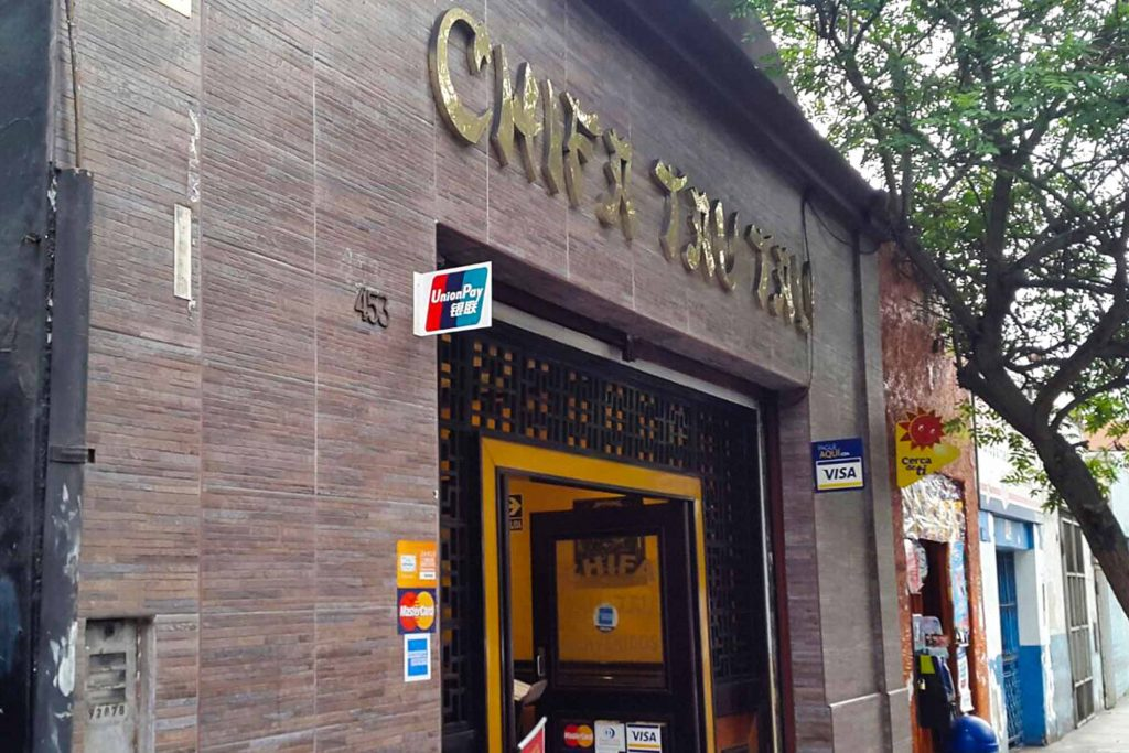 Chifa Tau Tau restaurant in Lima has a great selection of budget menú options for Peruvian/Chinese fusion