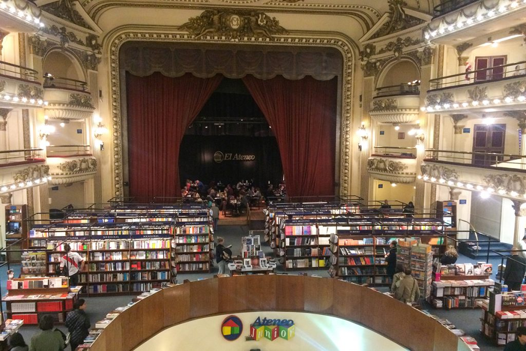 El Ateneo Grand Splendid Buenos Aires book shop theatre
