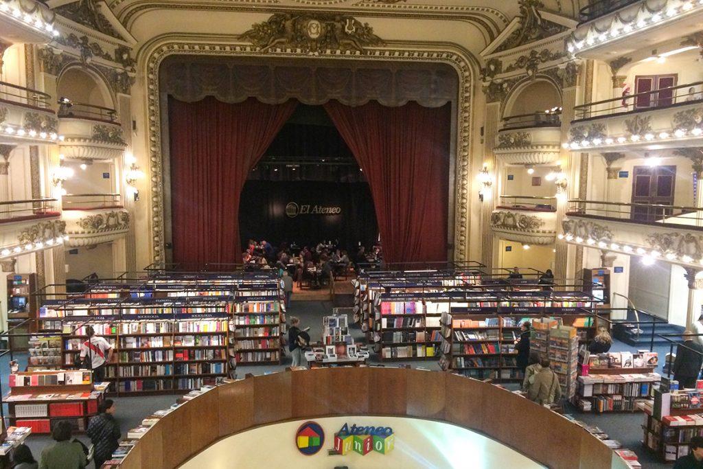 El Ateneo Grand Splendid Buenos Aires book shop theatre