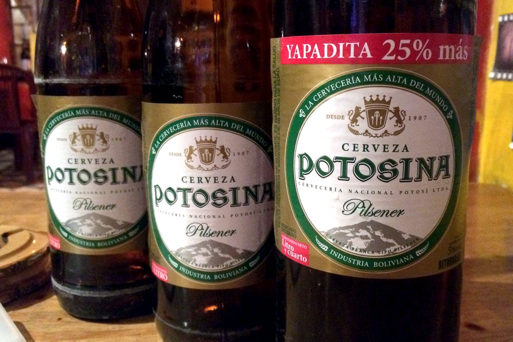 Every country in South America has its own local brands of beer