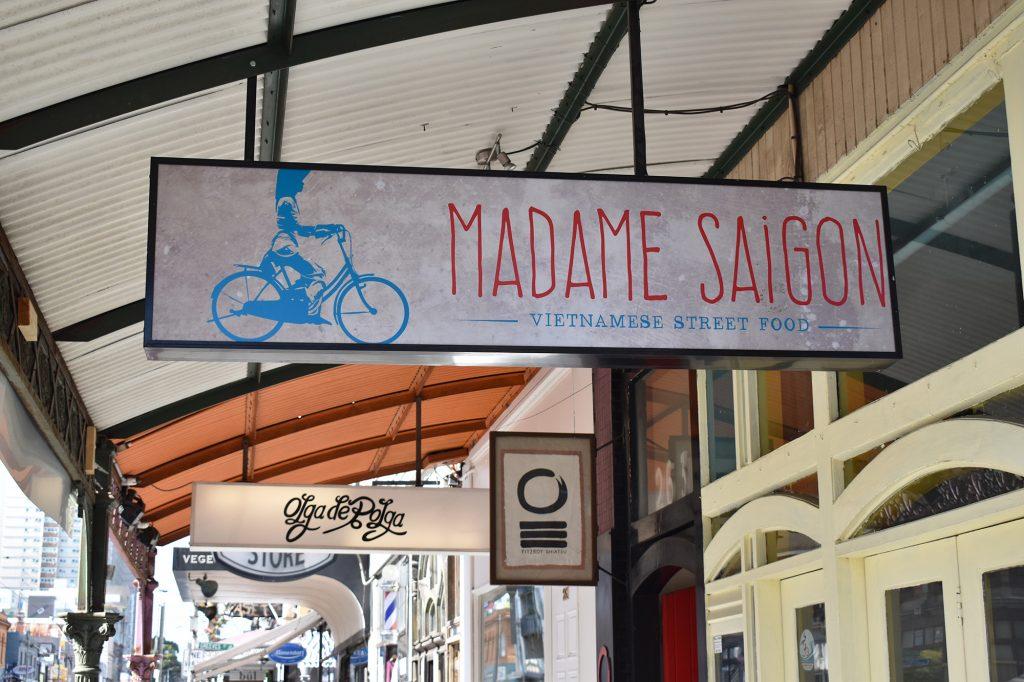 Melbourne food: Madame Saigon Vietnamese cuisine, Fitzroy