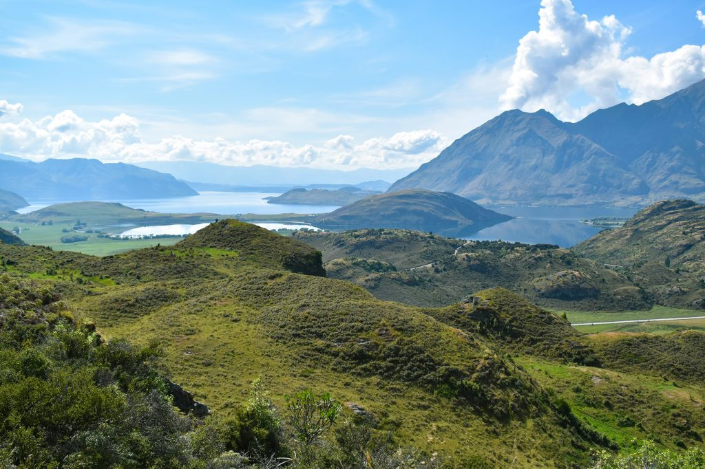 The views on the Diamond Lake and Rocky Mountain walks in Wanaka are some of New Zealand's best