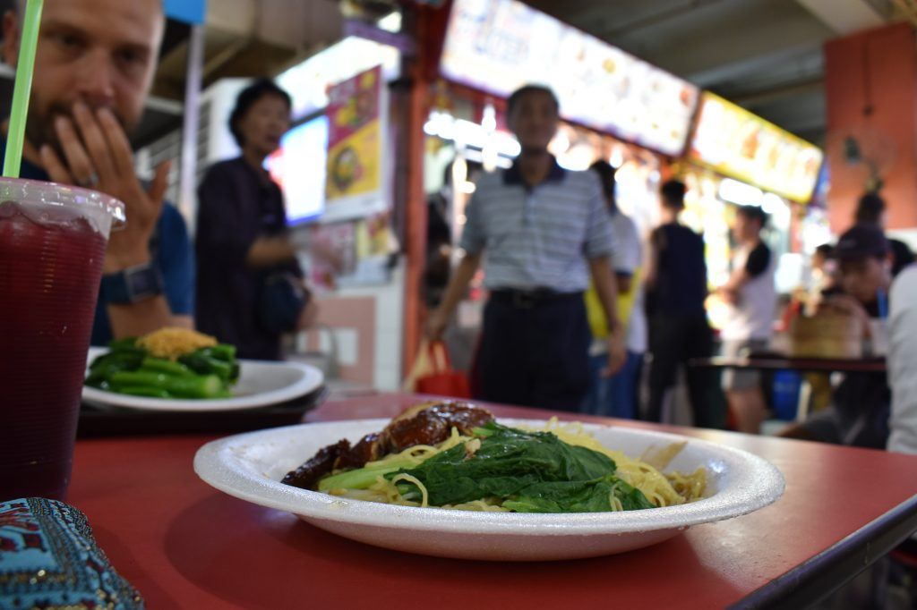 The Chinatown Food Complex is one of the best hawker centres in Singapore