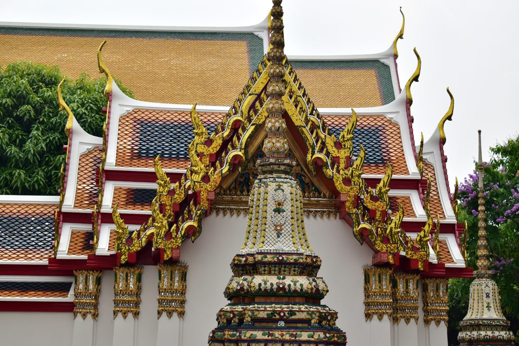 Wat Pho temple is a less crowded experience than the Grand Palace to include in your Bangkok itinerary