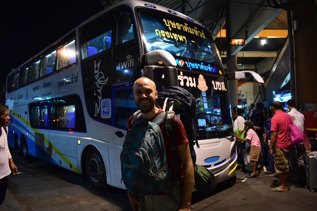 Bangkok bus terminal Instagram