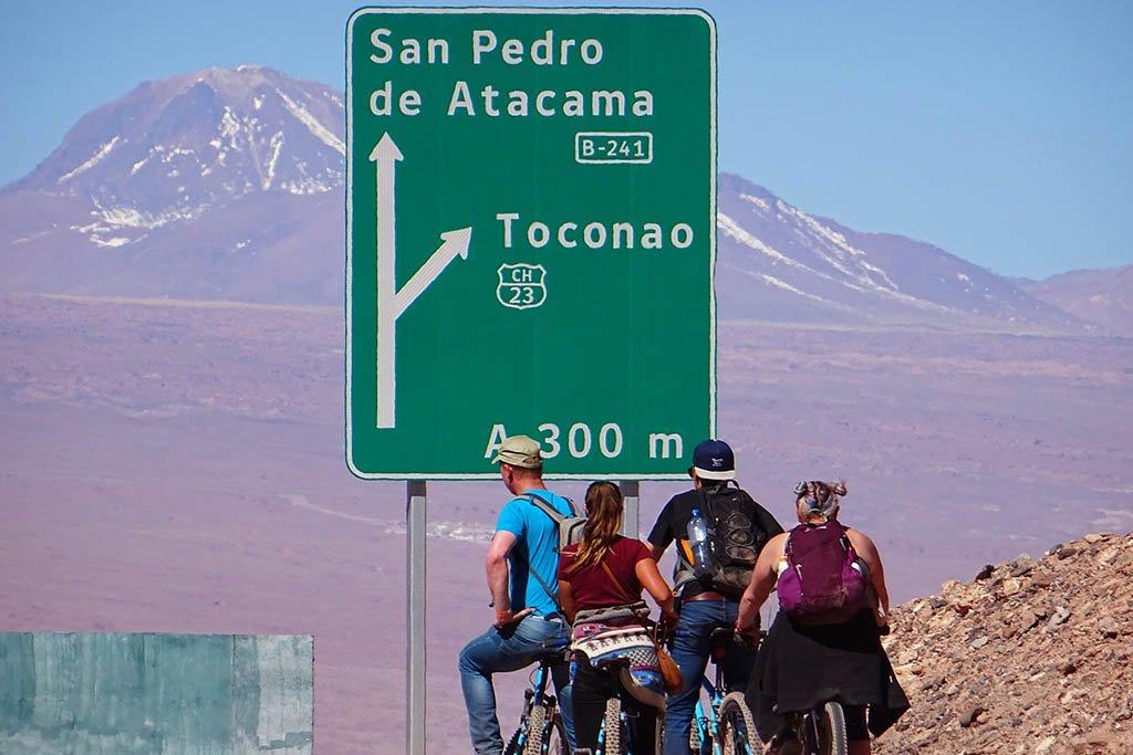 Cycling San Pedro de Atacama Chile
