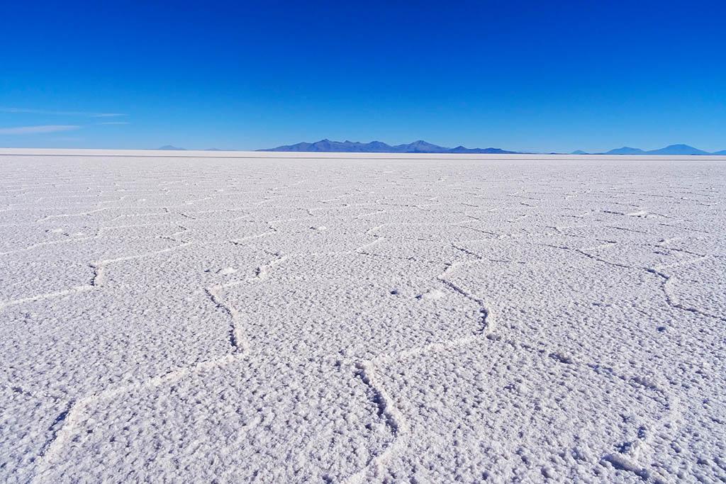 You can take tours to the famous Bolivian salt flats of Salar de Uyuni from San Pedro de Atacama