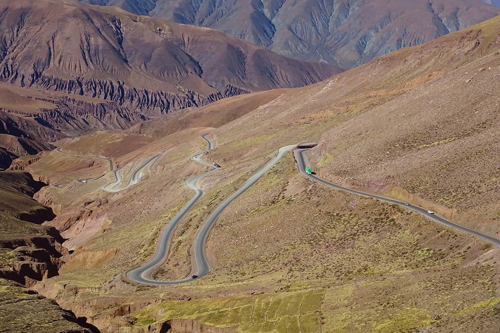 San Pedro de Atacama to Salta bus journey