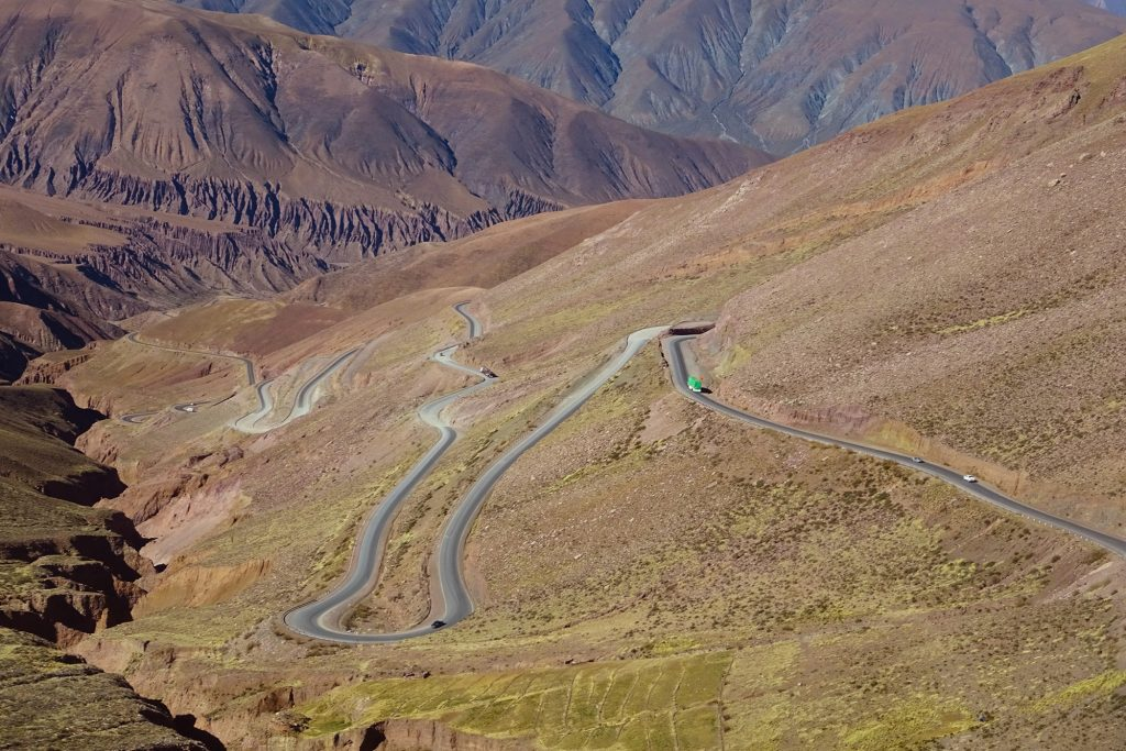 The bus route from San Pedro de Atacama to Salta is one of the world's most beautiful journeys