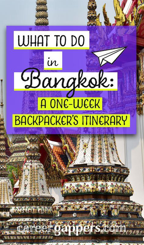 Stuck for inspiration on what to do in Bangkok? It's a huge and choatic city. So little time, so much to see! Here's our Bangkok itinerary for a week in Thailand's enigmatic capital. Bangkok travel | Thailand travel | things to do in Bangkok