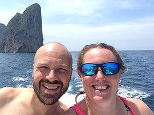 Alex Lisa scuba diving Koh Phi Phi