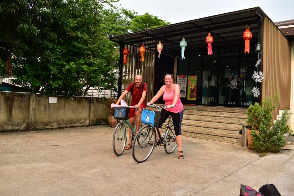 Things to do in Chiang Rai: cycle hire is a great alternative way to see the sights