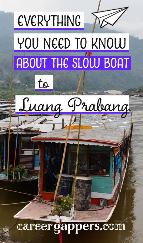 We have made many, many border crossings on our travels, but few as epic and unpredictable as the two-day slow boat from Northern Thailand to Laos. We began our journey in Chiang Rai, Thailand, and took the slow boat to Luang Prabang, Laos. Here is the story of our journey.