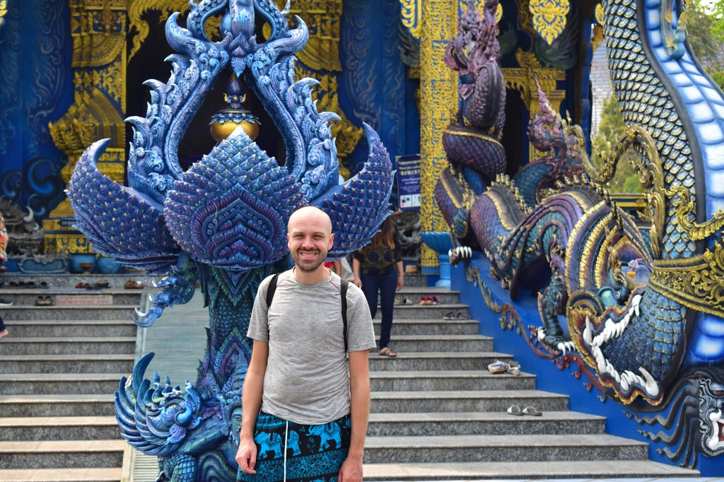 Thailand on a budget: the Blue Temple in Chiang Rai is one of many great free attractions