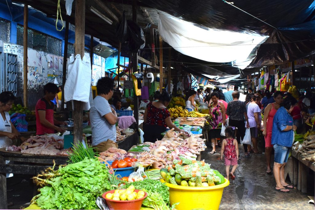 Shopping at Belén Market is one of the top things to do in Iquitos