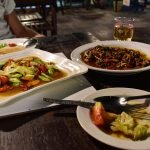 Local food in Numphu Savannakhet