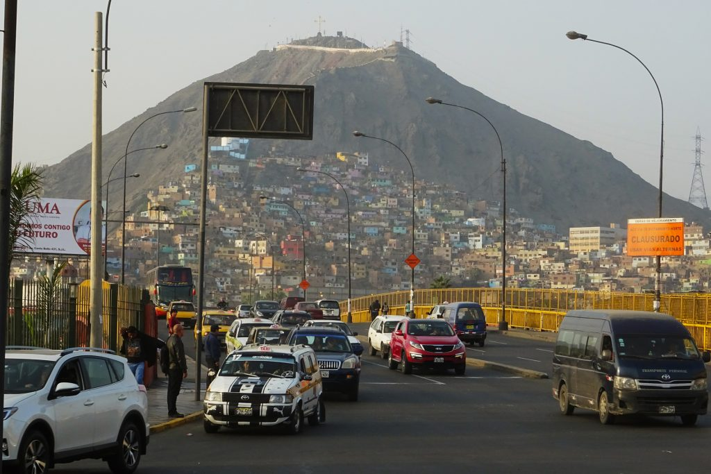 Peru's lively capital Lima is a hub for getting around Peru and the ideal starting point
