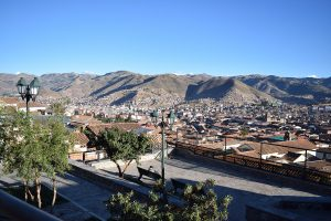 Cusco view from San Blas