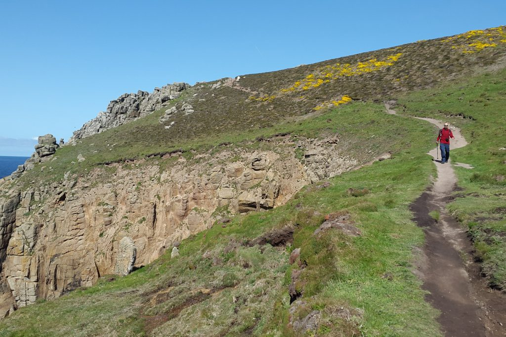 One of our Inca Trail preparation hikes was on the South West Coastal Path in Cornwall, UK