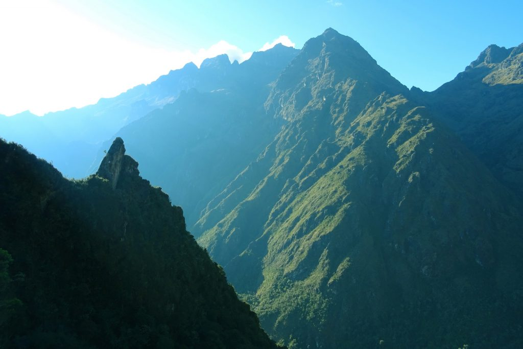 The Inca Trail to Machu Picchu is packed with incredible Andean scenery