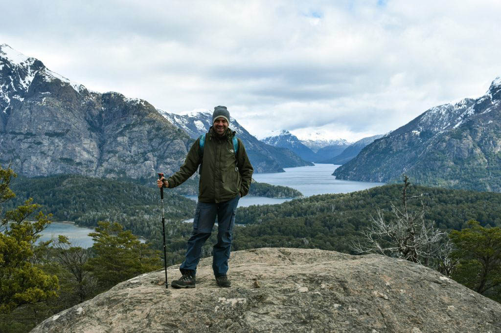 The panorama view from Cerro Llao Llao is one of the our best memories of Patagonia