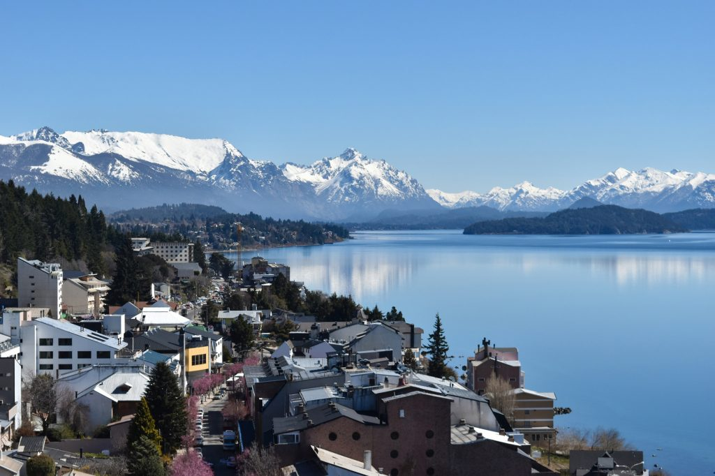 Bariloche sits on the shore of Lago Nahuel Huapi. Take the 20 bus from here to the start of the Cerro Llao Llao trail