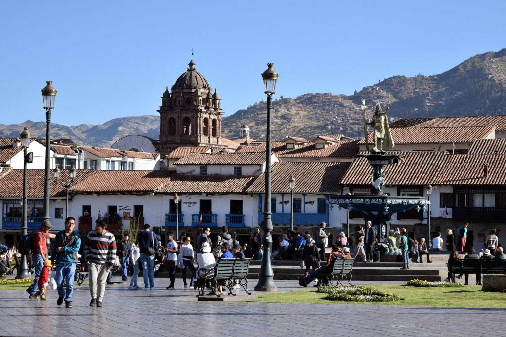 We spent more on average in Cusco than anywhere else in Peru