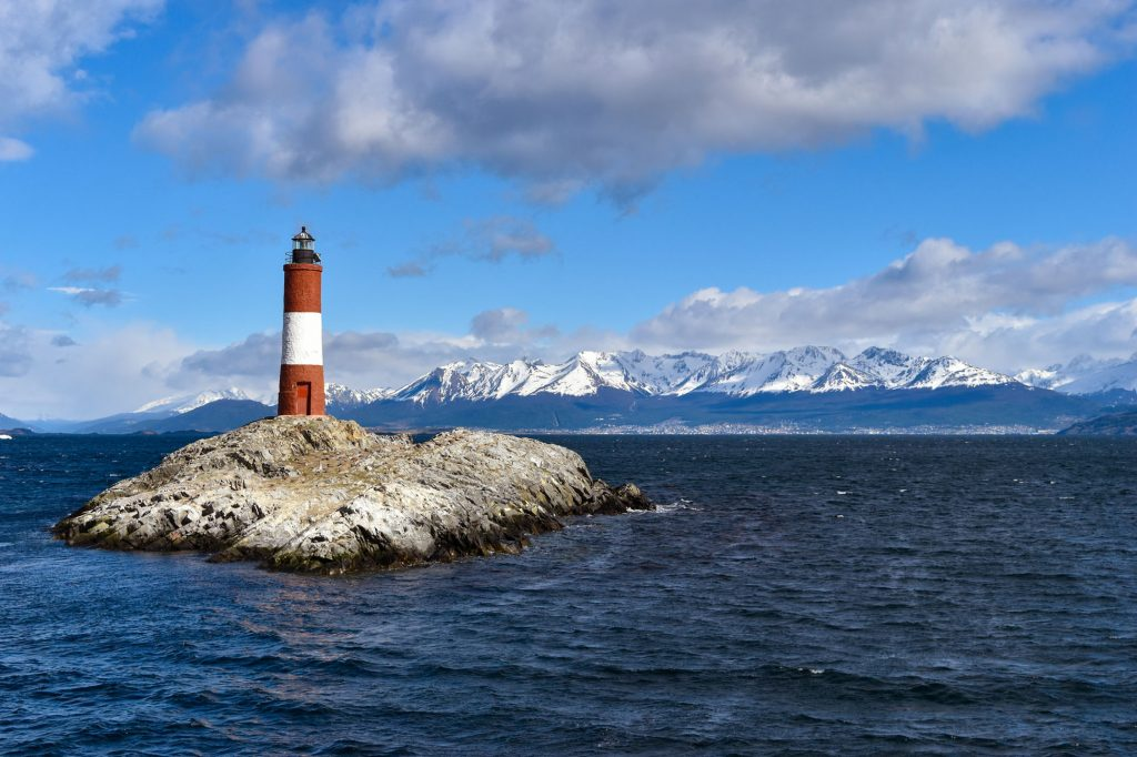 Seeing the famous Les Eclaireurs Lighthouse is one of the top things to do in Ushuaia