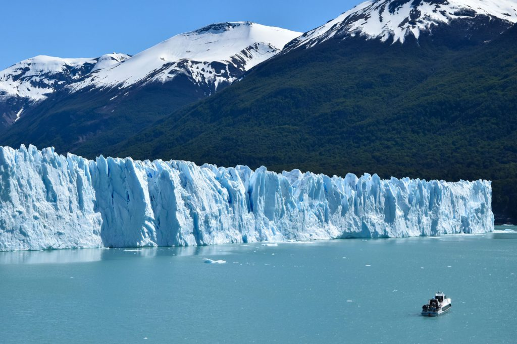 Visiting the Perito Moreno Glacier near El Calafate was one of our most expensive activities in Patagonia