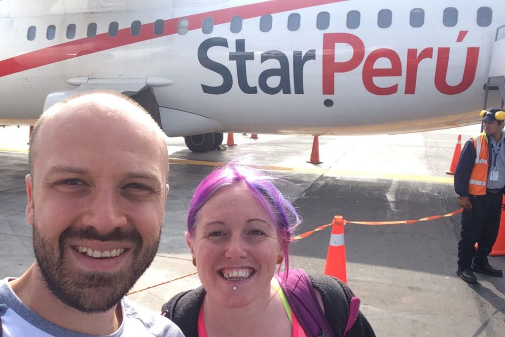 The only domestic flights we took were with Star Perú between Lima and Iquitos