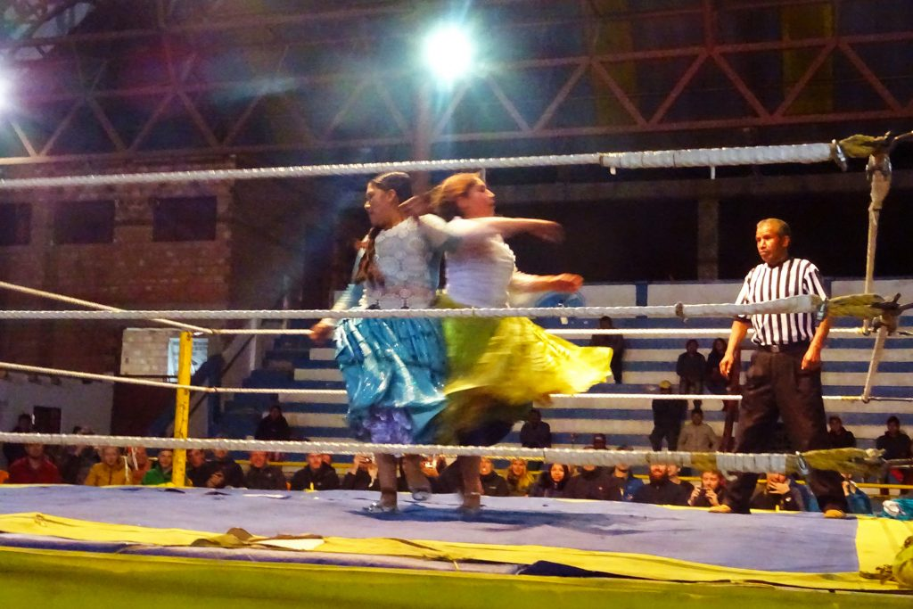Our night at the cholita wrestling show was packed with drama, athleticism and entertainment