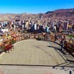 Things to do in La Paz: see the city panorama from Mirador Killi Killi