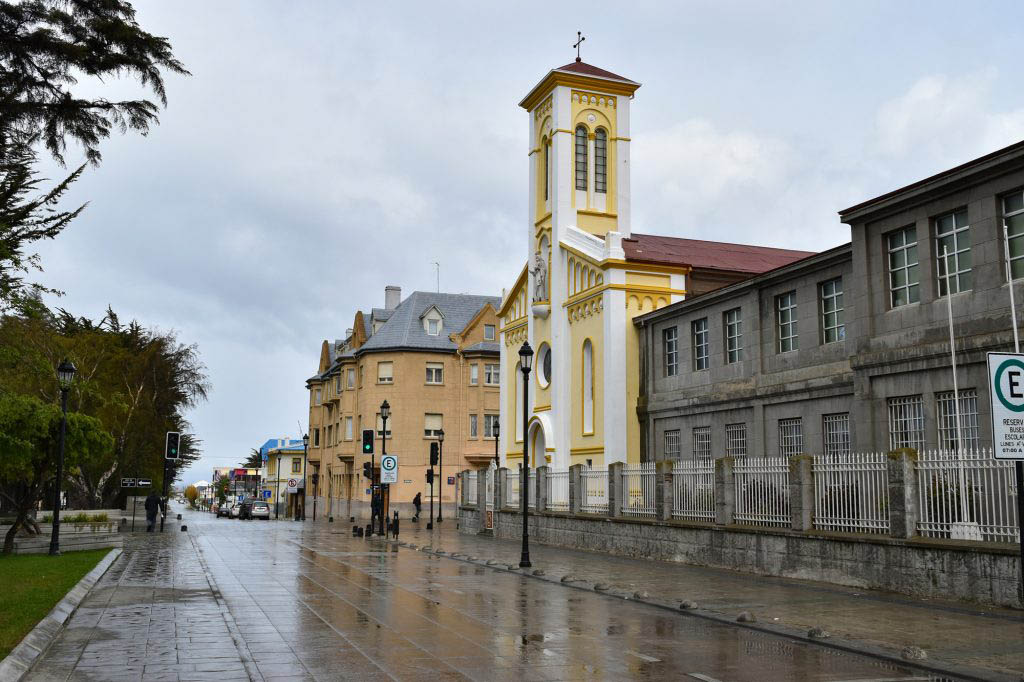 Punta Arenas in Chile isn't as scenic as some Patagonian cities, but it has a tax-free shopping zone