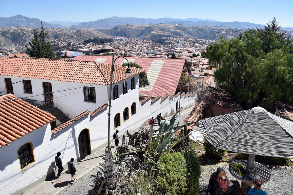 Sucre, known as Bolivia's White City, is the country's constitutional capital