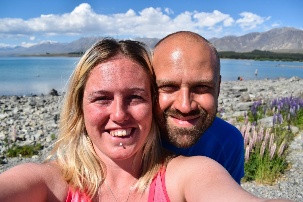 On a road trip through New Zealand's South Island mid-way through our career gap
