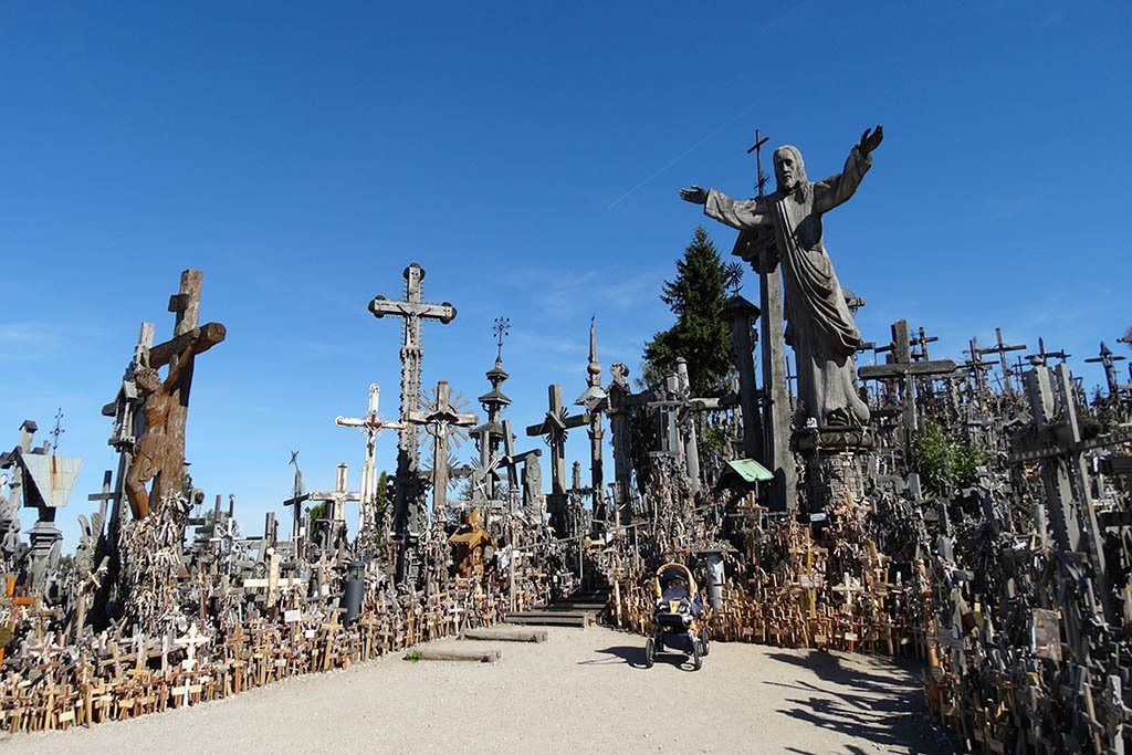 Hill of Crosses Šiauliai Lithuania