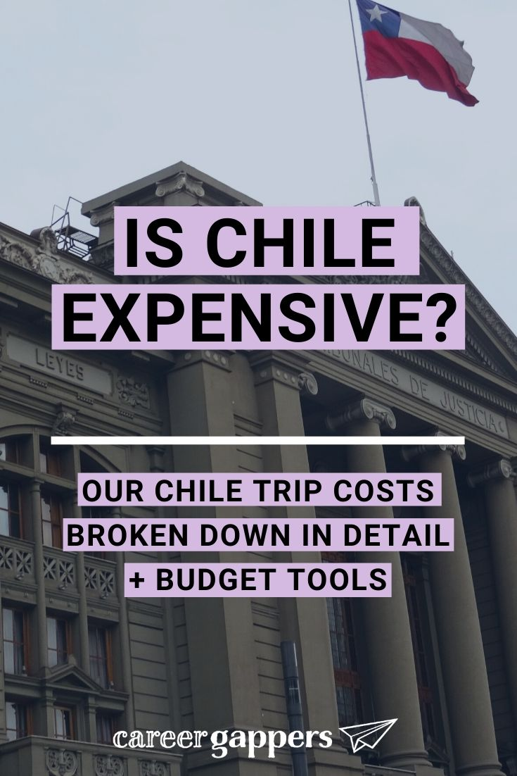 How much does a Chile trip cost? Is Chile expensive compared to other South American countries? We took a look by breaking down everything we spent. #chiletrip #ischileexpensive #budgettravel #travelbudget #budgetchile