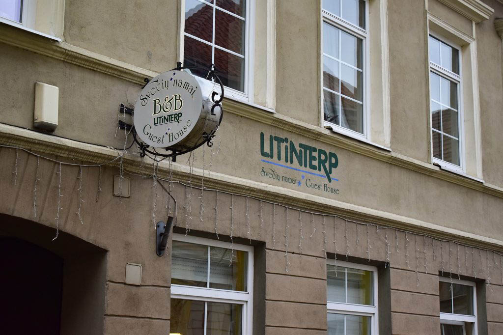 We spent four nights at Litinterp Guest House, perfectly located in Vilnius Old Town