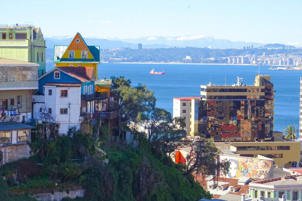 Valparaíso was one of the most important port cities in South America before the Panama Canal opened