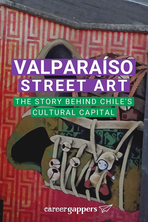 Valparai?so is considered by many as the cultural capital of Chile. We take a look at Valparaiso street art and how it has shaped the city's history. Career gappers blog | South America | travel photography