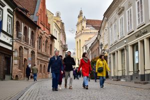Taking a free walking tour is one of the best things to do in Vilnius when you first arrive