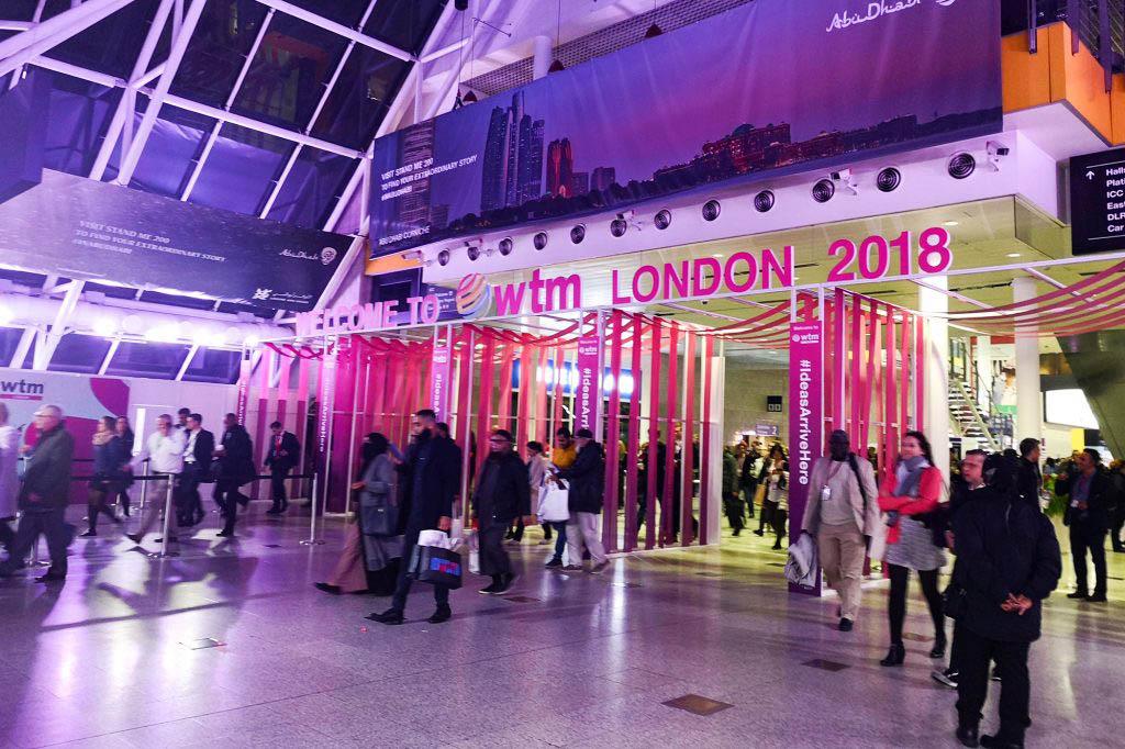 WTM London Excel Exhibition Centre