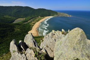 Praia Lagoinha do Leste is rated as one of the best secluded beaches in Brazil