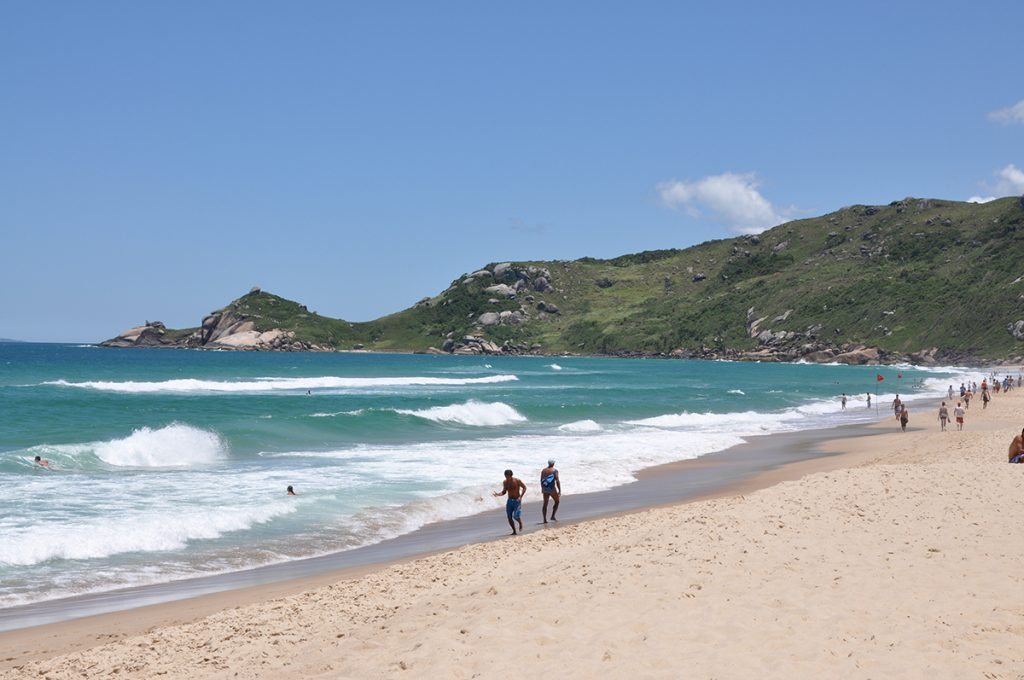 Praia Mole is one of the top Florianópolis surf spots
