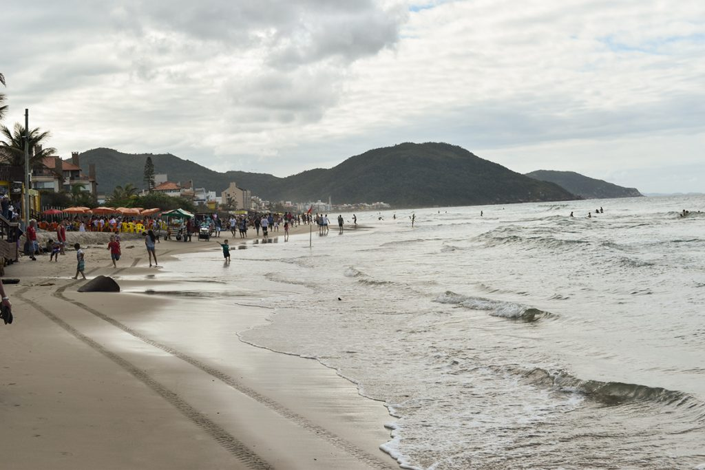 Praia dos Ingleses is one of the most popular beaches in Florianópolis for holiday-makers