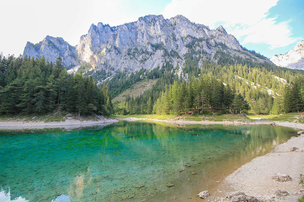 Green Lake Austria - one of the best hikes in Europe