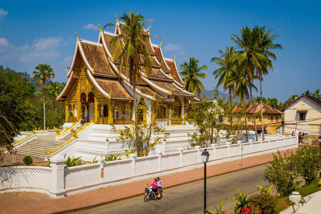 Wat Xieng Thong, built in the 16th century, is one of the most important temples in Laos