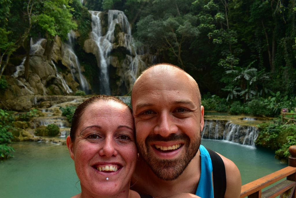 Our visit to Kuang Si Waterfalls was a highlight of our time in Luang Prabang