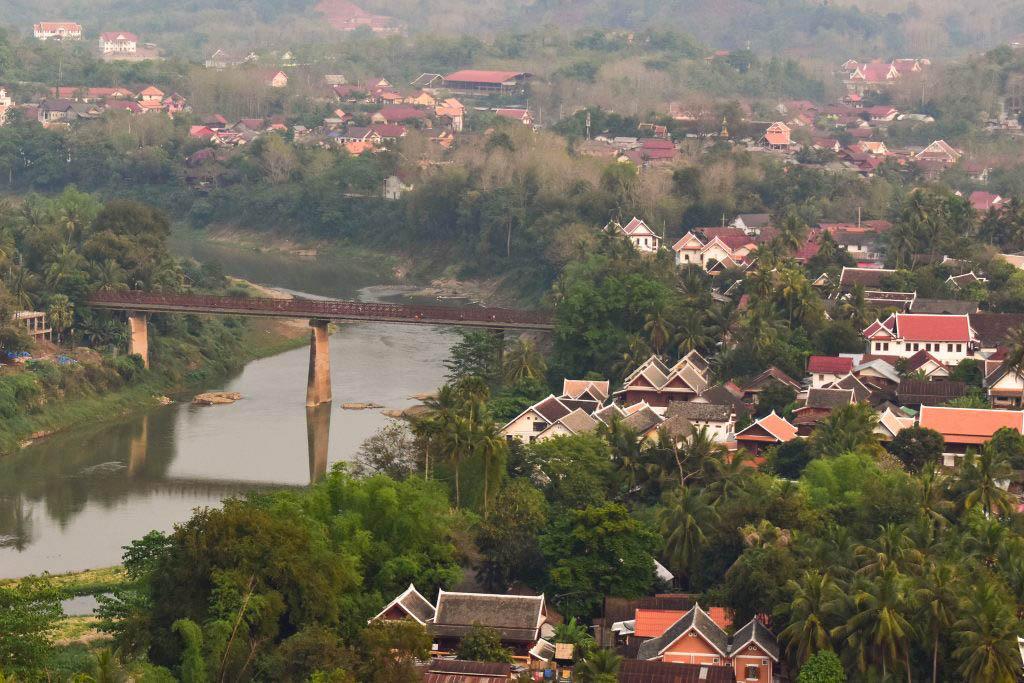 Luang Prabang Nam Khan river